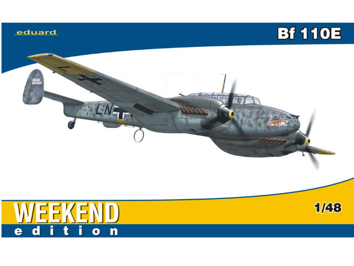 Eduard - Bf 110E  -  Weekend Edition 1/48 84144