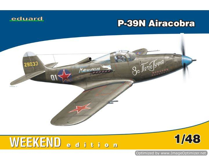 Eduard - P-39N Airacobra Weekend Kit 1/48 84163