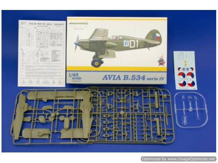 Eduard - Avia B-534 IV - Weekend Kit 1/48 8475