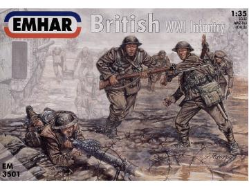 Emhar - British Infantry WWI 1/35 3501