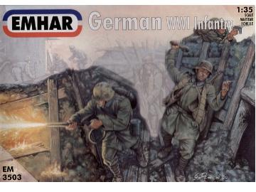 Emhar - WWI German Infantry 1/35 3503