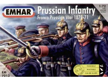Emhar - Prussian Infantry Franco Prussian War 1/72 7213