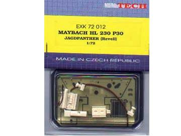 Extratech - HL230P30 engine for Revell Jagdpanther 1/72 K7212