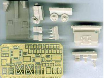Extratech - Driver compartment for Revell PzKpfw.III 1/72 K7219