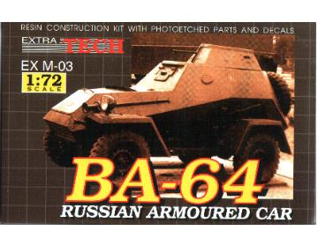 Extratech - BA-64 Russian armored car 1/72 M7203