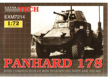 Extratech - French Panhard 178 AFV  1/72 M7214