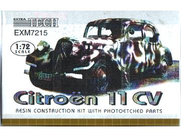 Extratech - French Citroen 11 CV 1/72 M7215
