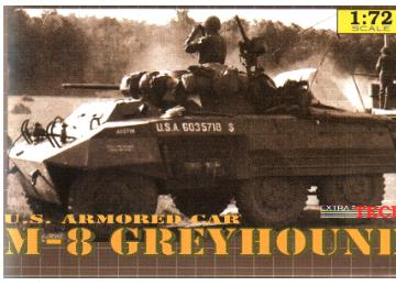 Extratech - M8 Greyhound   1/72 M7220