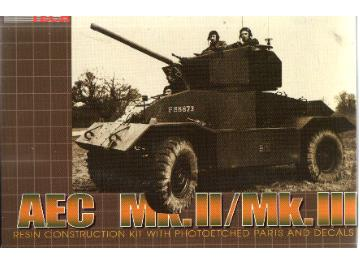 Extratech - AEC Mk.II British armored car  1/72 M7227