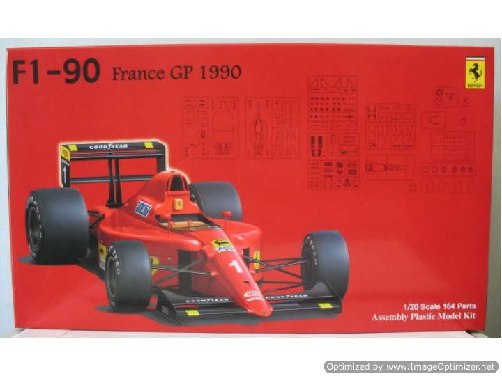 Fujimi - F1-90 641/2 1990 France GP ClearBody Spec 1/20 090450