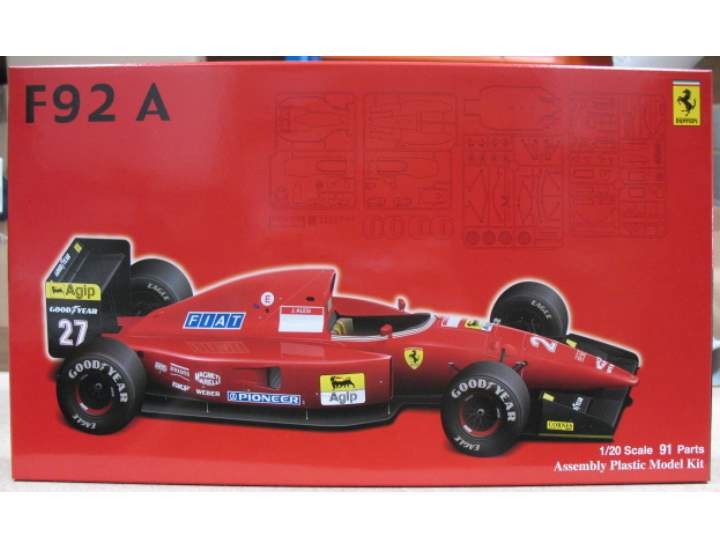 Fujimi - Ferrari F92A 1992 Late Version 1/20 090542