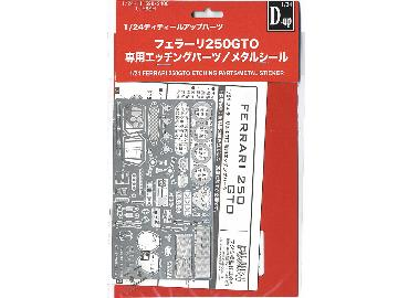 Fujimi - Ferrari 250 GTO Photoetch Parts 1/24 111599