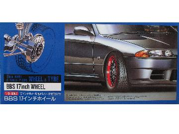 Fujimi - 17inch BBS 2-color Wheel and Tyre Set 1/24 19151