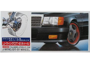 Fujimi - 17inch J-Wing DT-01 Wheel and Tyre Set 1/24 19156