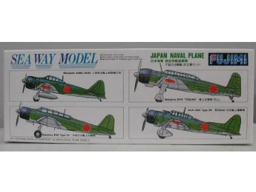Fujimi - IJN Navy Aircraft Set 1/700 45106