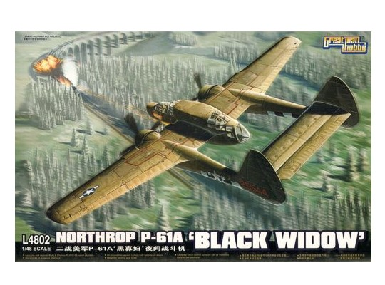 Great Wall Hobby - Northrop P-61A 'Black Widow' 1/48 4802