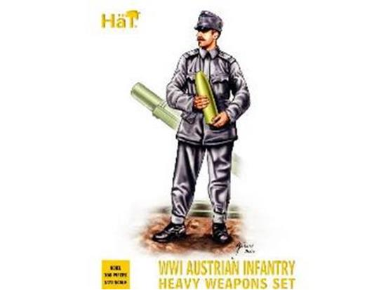 Hat - WWI Austrian Infantry Heavy Weapons 1/72 8081
