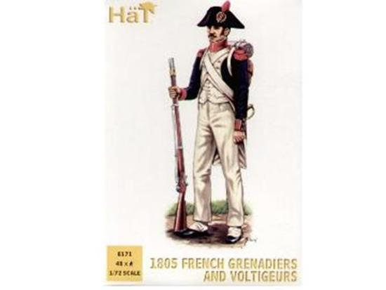 Hat - 1805 French Grenadier/Voltigeurs 1/72 8171