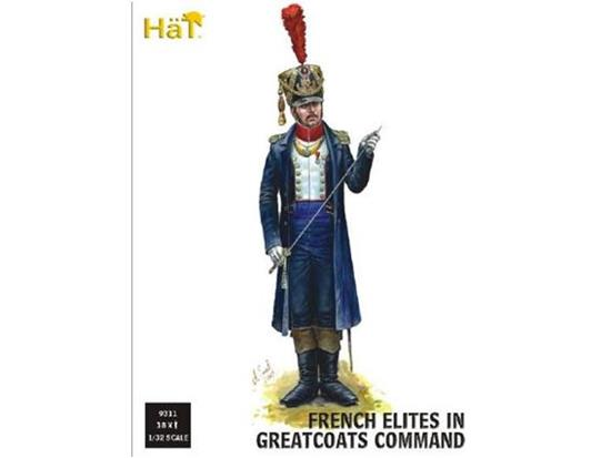 Hat - French Elites in Greatcoats Command 1/32 9311