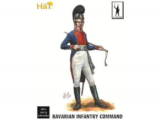 Hat - Napoleonic Bavarian Infantry Command 1/32 9314