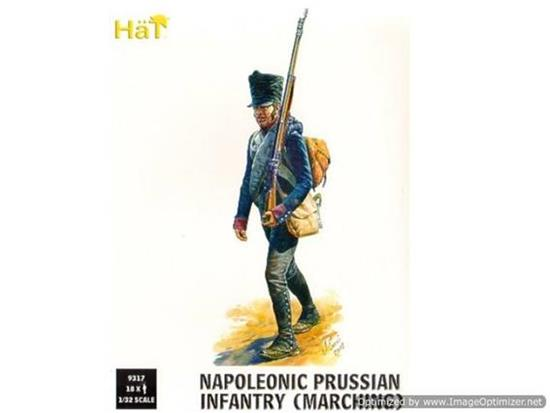 Hat - Napoleonic Prussian Infantry (Marching) 1/32 9317
