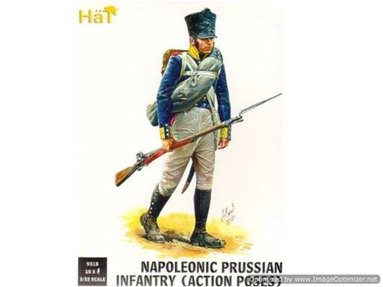 Hat - Napoleonic Prussian Infantry (Action Poses) 1/32 9318