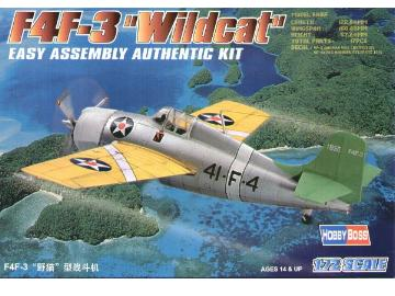 Hobbyboss - F4F-3 Wildcat 1/72 80219