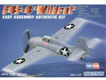 Hobbyboss - F4F-4 Wildcat 1/72 80220