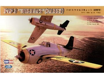 Hobbyboss - F4F-3 Wildcat (Early) 1/48 80326