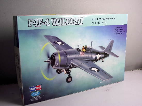 Hobbyboss - F4F-4 Wildcat 1/48 80328