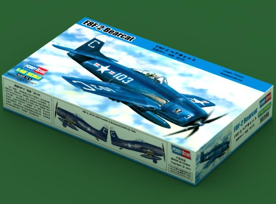 Hobbyboss F8F-2 Bearcat Scale 1/48 80358