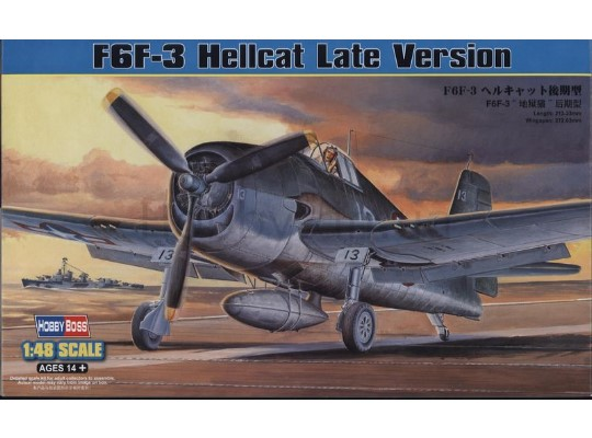 Hobbyboss - F6F-3 Hellcat Late Version 1/48 80359