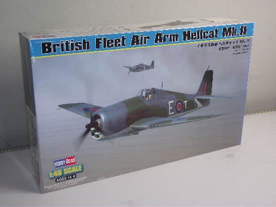 Hobbyboss - British Fleet Air Arm Hellcat Mk.II 1/48 80361