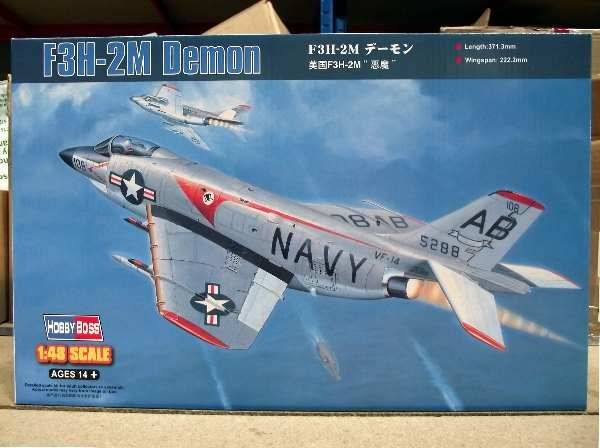 Hobbyboss - F3H-2M Demon 1/48 80365