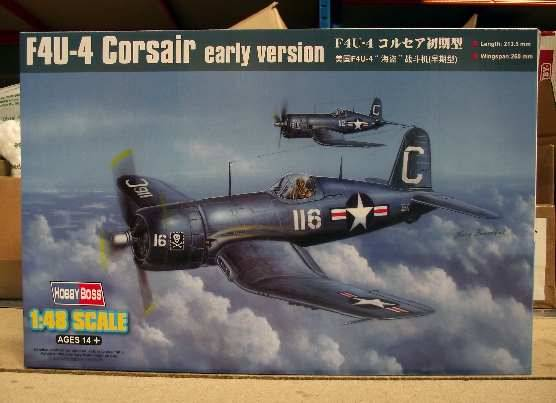 Hobbyboss - F4U-4 Corsair Early Version 1/48 80386