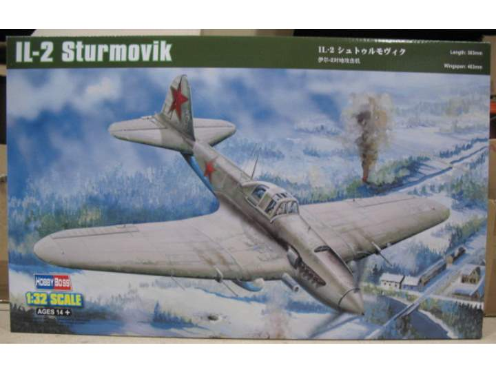 Hobbyboss - IL-2 Ground Attack Aircraft 1/32 83201