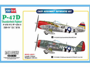 Hobbyboss - Republic P-47D Thunderbolt Fighter 1/48 85804