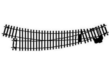 Hornby - Right Hand Curve Point 00 R8075