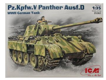 ICM - Pz.Kpfw V Hunter Ausf D WWII German 1/35 35361