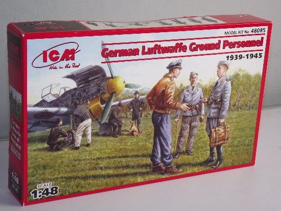 ICM - German Luftwaffe Ground Personnel WWII 1/48 48085