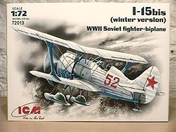 ICM - I-15 Bis WWII (Winter Version) 1/72 72013