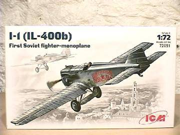 ICM - I-1 IL-400B Soviet Fighter 1/72 72051