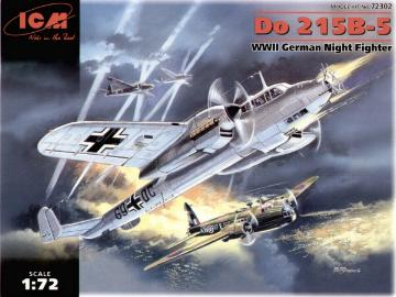 ICM - Dornier Do 215B-5 German Night Fighter 1/72 72302