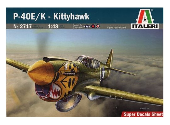 Italeri - Curtiss P-40E Kittyhawk Mk.III 1/48 2717