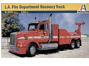 Italeri - LA Fire Department Recovery Truck 1/24 3843