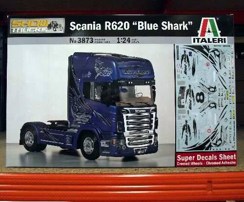 Italeri - Scania R620 Blue Shark 1/24 3873