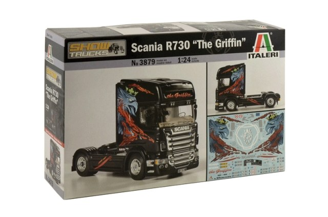 Italeri - Scania R730 'The Griffin' 1/24 3879