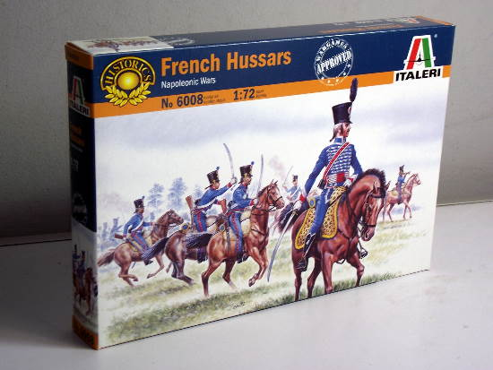 Italeri - French Hussars 1/72 6008