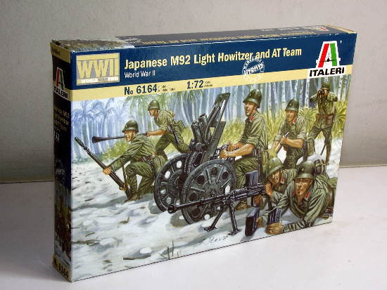 Italeri - WWII Japanese M92 Light Howitzer and AT Team 1/72 6164