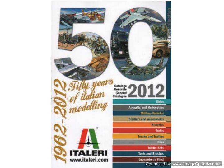 Italeri - Catalogue 2012 na CAT2012